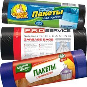 Изображение для категории Пакеты мусорные