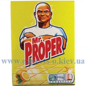 Изображение Порошок Mr.Proper для мытья пола, 400 г