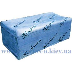 Изображение Полотенце-вкладыш Кохавинка, 200 шт, синяя
