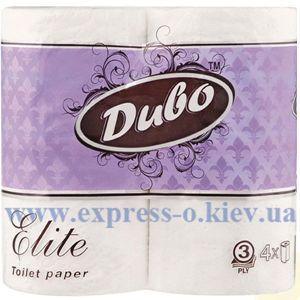 Изображение Туалетная бумага Диво Элит, 3-х слойная, 4 шт