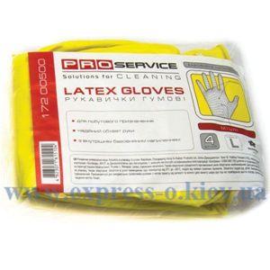 Изображение Перчатки PRO service латексные, прочные, размер L, 1 пара