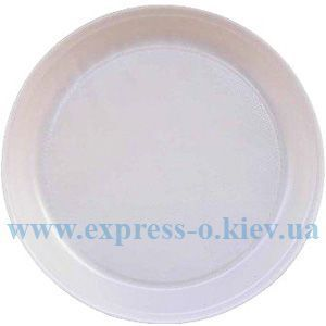 Изображение Тарелка одноразовая диаметр 205 - 220 мм 100 штук