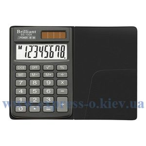 Изображение Калькулятор карманный Бриллиант BS-100X