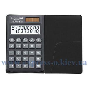 Изображение Калькулятор карманный Бриллиант BS200Х