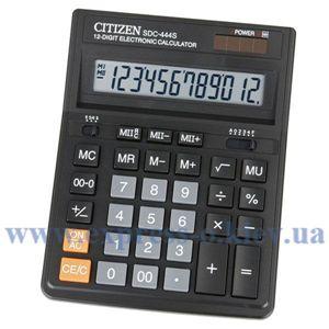 Изображение Калькулятор настольный   Ситизен SDC-444S