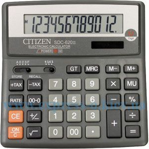 Изображение Калькулятор настольный   Ситизен SDC-620