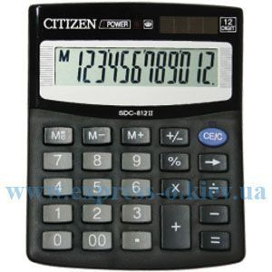 Изображение Калькулятор настольный   Ситизен SDC-812