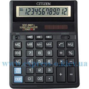 Изображение Калькулятор настольный   Ситизен SDC-888