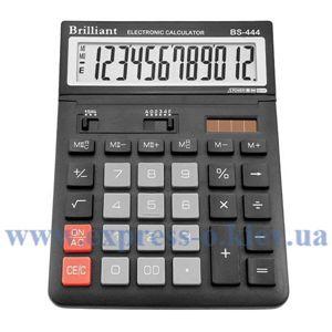 Изображение Калькулятор настольный Бриллиант BS444