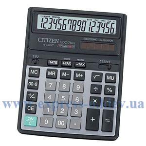 Изображение Калькулятор настольный Ситизен SDC-760