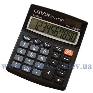 Изображение Калькулятор настольный Ситизен SDC-810