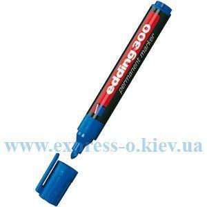 Изображение Маркер перманентный  Edding E-300 1,5-3 мм круглый синий