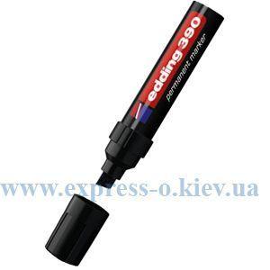 Изображение Маркер перманентный Edding E-390 4-12 мм клиновидный черный