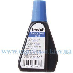 Изображение Краска штемпельная TRODAT   28 мл синяя