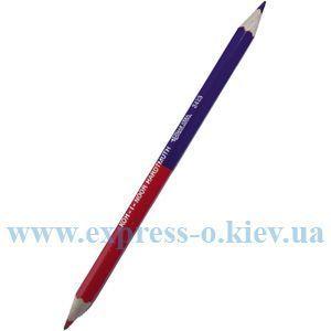 Изображение Карандаш утолщенный красно-синий арт. 3423