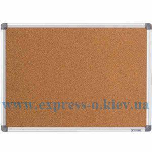 Изображение Доска пробковая   BM.0018 90 х 120 см, алюминиевая рамка