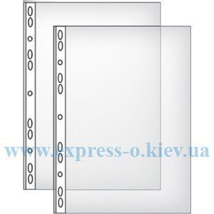 Изображение Вкладыш-файлы  глянцевые 100 шт 40 микрон