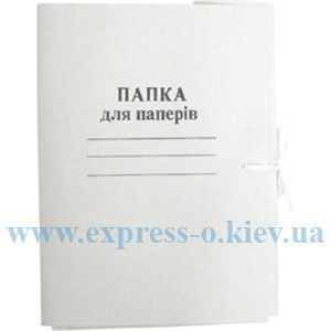 Изображение Папка с завязками картонная