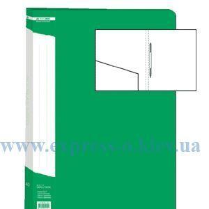 Изображение Папка с прижимом  пружиной   зеленая