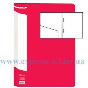 Изображение Папка с прижимом  пружиной   красная
