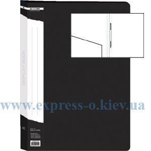 Изображение Папка с прижимом  пружиной   черная