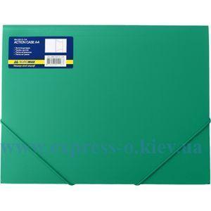 Изображение Папка с резинками   пластиковая   арт.3913 зеленая
