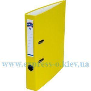 Изображение Регистратор 50 мм Donau желтый