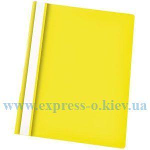 Изображение Скоросшиватель пластиковый желтый