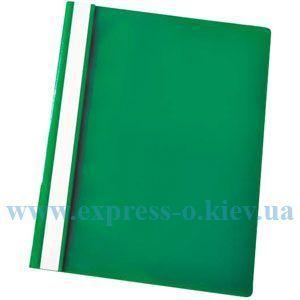 Изображение Скоросшиватель пластиковый зеленый