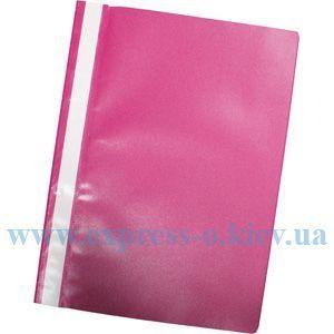 Изображение Скоросшиватель пластиковый розовый