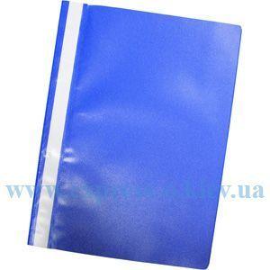 Изображение Скоросшиватель пластиковый синий
