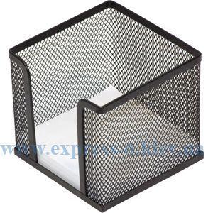 Изображение Подставка для куба бумаги металл черная