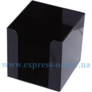 Изображение Подставка для куба бумаги черная 9 х 9 см