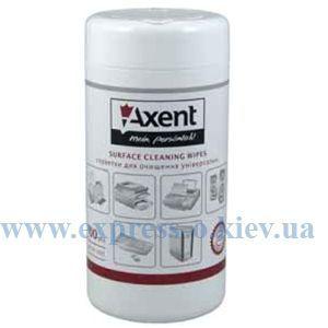 Изображение Салфетки Axent для пластика 100 штук