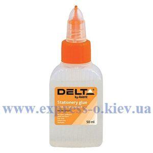 Изображение Клей канцелярский Delta by Axent, 50 мл, колпачок-дозатор
