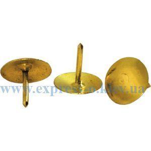 Изображение Кнопки металлические золотистые ВМ.5175 100 штук