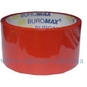 Изображение Лента упаковочная красная 45 микрон 48 мм х 35 м