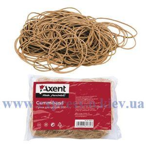 Изображение Резинки для денег Axent, натуральный каучук, 500 г