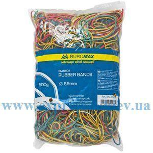 Изображение Резинки для денег цветные 0,5 кг