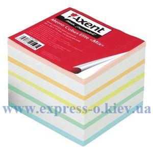 """Изображение Бумажный куб Elite """"Mix"""", 9 х 9 х 7 см, не склеенный"""