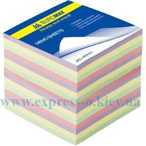 """Изображение Блок паперу для нотаток """"Декор"""" 90 х 90 х 70 мм, не склеєний, 750 листов"""