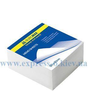 Изображение Куб бумаги 9 х 9 см  550 л клееный  белый