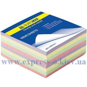 Изображение Куб бумаги 9 х 9 см 400 л клееный цветной