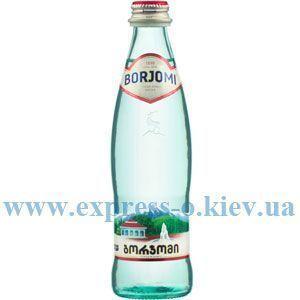 Изображение Вода минеральная Боржоми  0,33 л газированная стекло