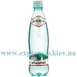 Изображение Вода минеральная Боржоми 0,5 л газированная