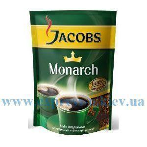 Изображение Кофе Jacobs Monarch 60 г растворимый в мягкой упаковке