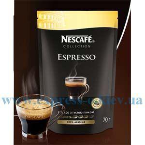 Изображение Кофе Nescafe  Espresso растворимый  эконом-упаковка 60 г