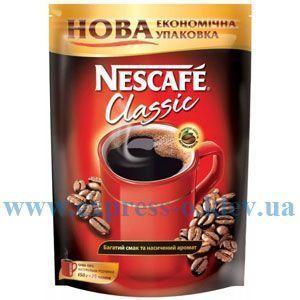 Изображение Кофе Nescafe Classic растворимый эконом-упаковка 350 г