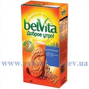 Изображение Печенье BelVita с мультизлаками, 225 г