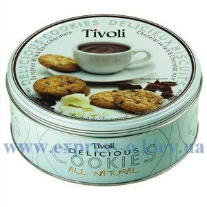Изображение Печенье Tivoli с молочным и темным шоколадом, 150 г